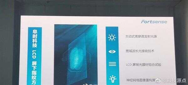 京东方宣布年底量产 LCD 屏下光学指纹识别技术今年底量产