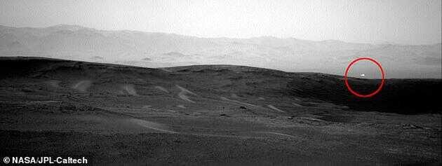 好奇号火星探测车拍摄的照片显示,火星上又出现了白光,此前在 2014 年也观察到了类似的亮点