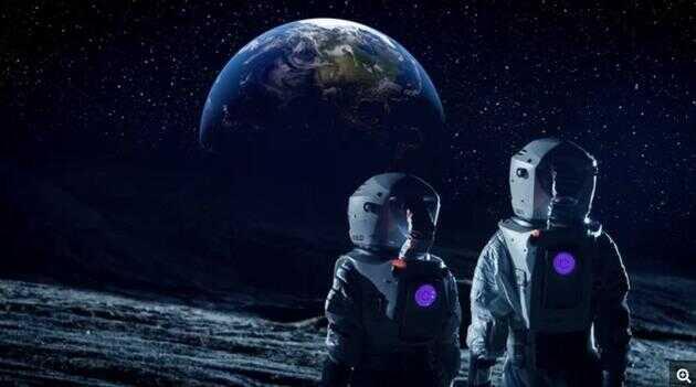 如果站在月球上,你会看到什么?