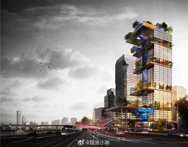 腾讯微信总部大楼落户广州:高 207 米、将部分对外开放