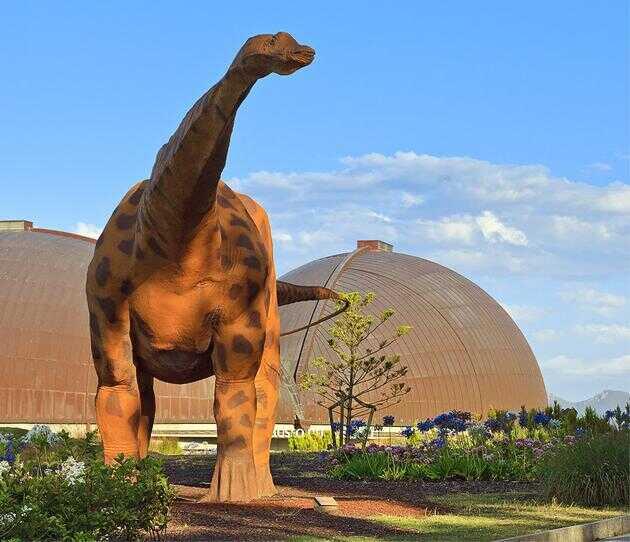 西班牙阿斯图里阿斯侏罗博物馆