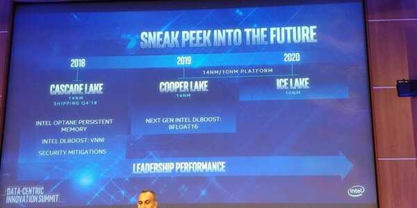 Intel 官宣下一代 14nm 至强可扩展处理器:最高 56 核、LGA4189 接口