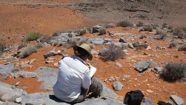 纳米比亚的地貌为研究 5.6 亿年前的环境提供了诸多线索