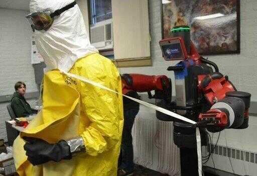 硬核'战'疫,这家公司投放全国首个 5G 测温巡逻机器人