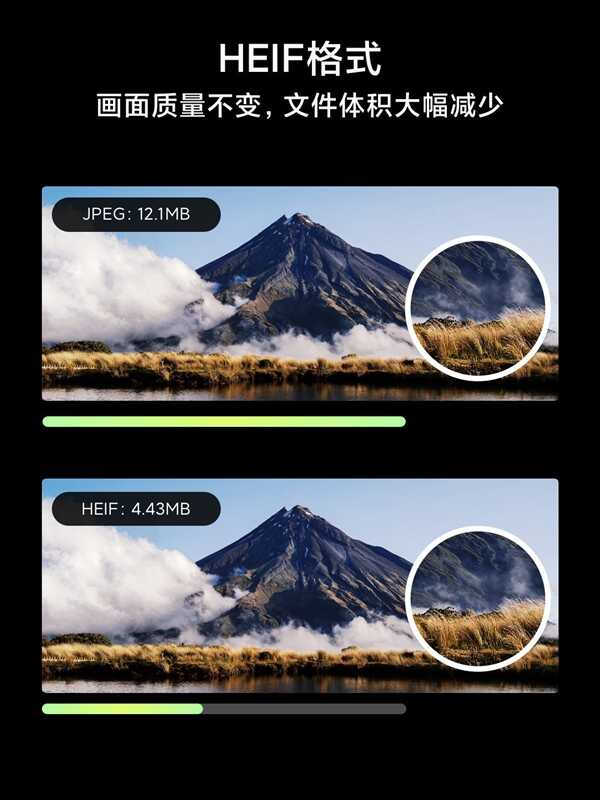 官方科普:小米 10 的 HEIF 格式照片是什么?