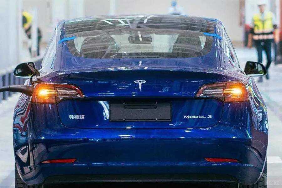 中国制造 Model 3