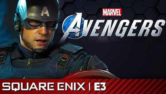 """△去年 SE 在 E3 上发布的漫威""""复仇者联盟""""游戏计划"""
