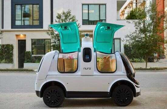 Nuro R2 自动驾驶送货车