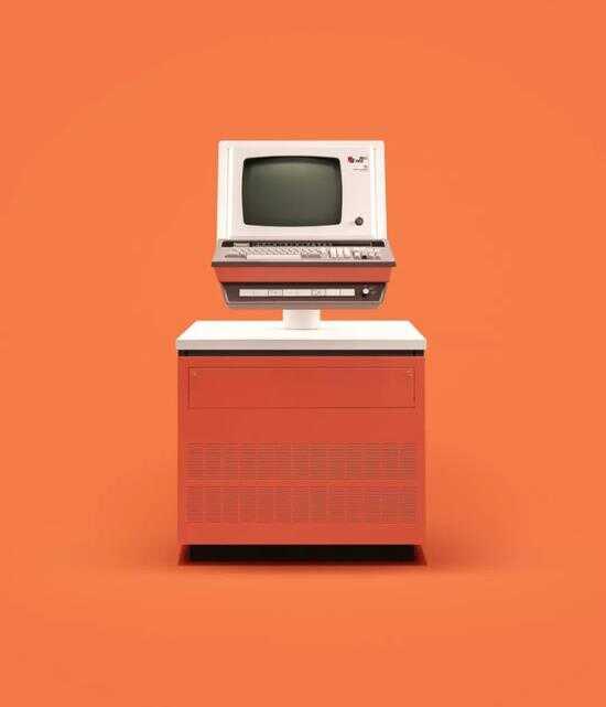 """以图像记录 1945-1979 年计算机发展历史的""""Docubyte""""摄影系列"""