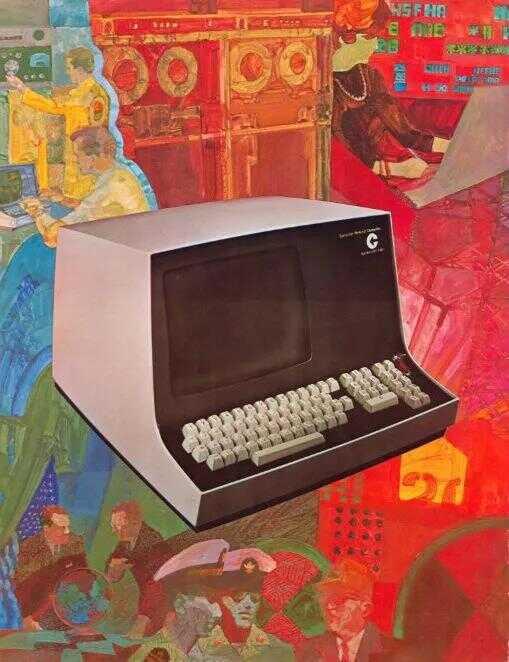 1969 年,美国科技公司 Computer Terminal Corporation 广告
