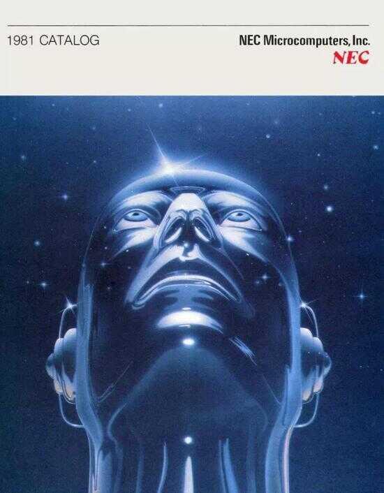 1981 年,美国科技公司 NEC 广告