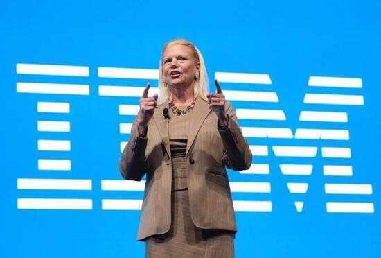 IBM CEO Ginni Rometty 图片来源:Getty Images