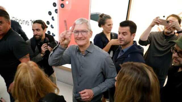 库克:苹果将在印度开网店 2021 年在印度开实体店