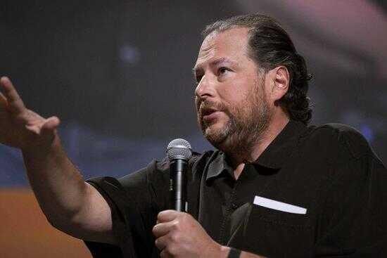 Salesforce 的创始人马克.贝尼奥夫