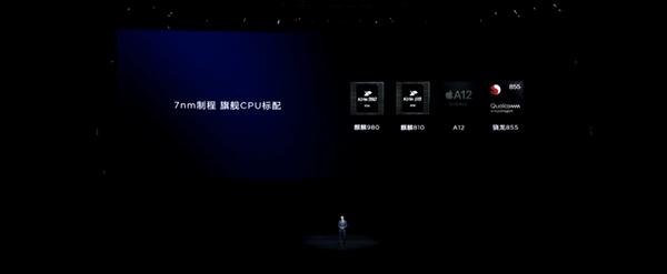 华为麒麟 810 发布:7nm 制程 AI 跑分超过骁龙 855